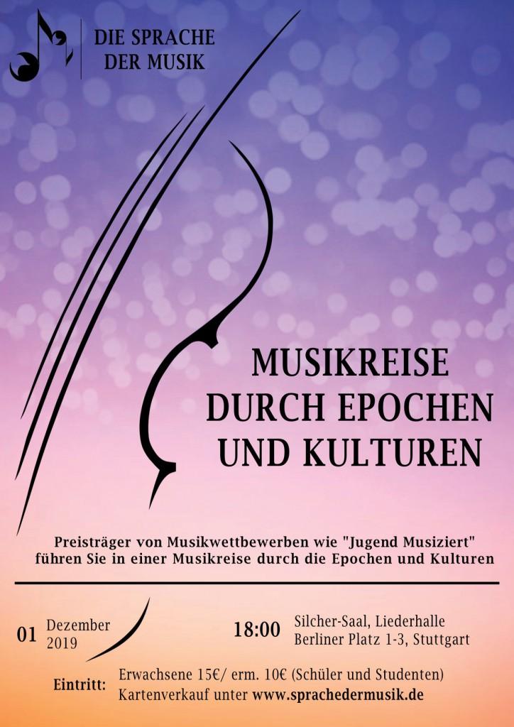 Winterkonzert 2019: 'Musikreise durch Epochen und Kulturen'